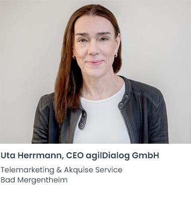 Uta Herrmann agilDialog Telemarketing Firma Bad Mergentheim