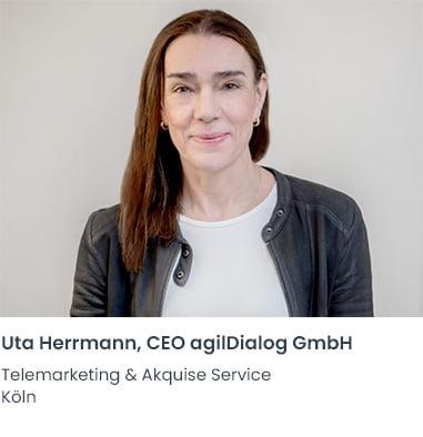 Uta Herrmann agilDialog Telemarketing Firma Köln